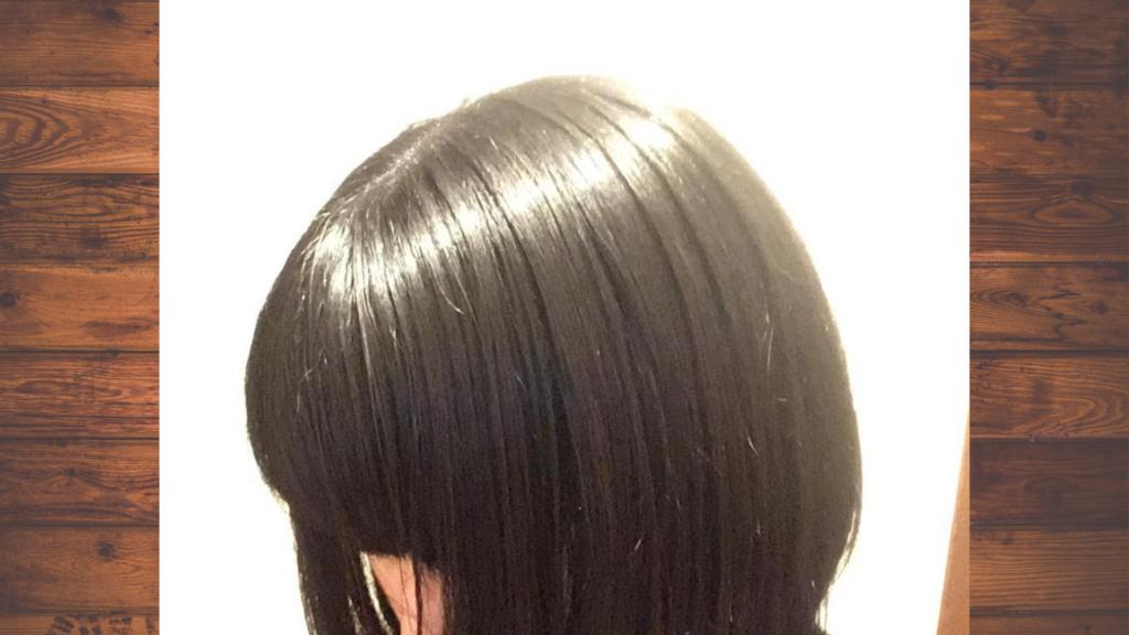 シャンプー後 髪