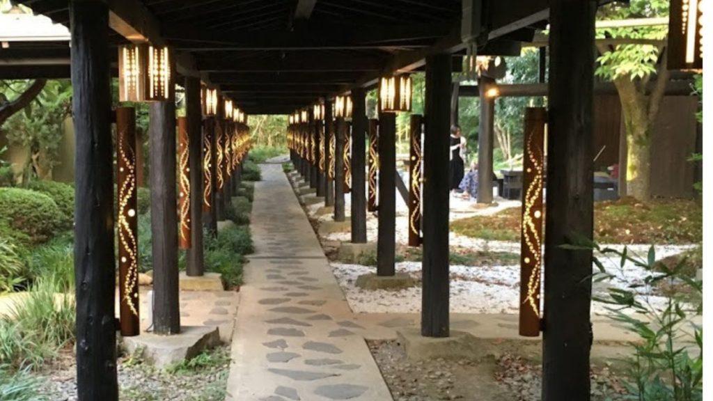 竹楽亭 廊下