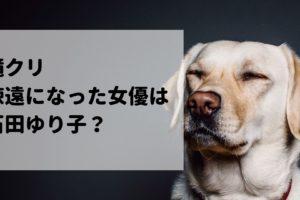 滝クリ 石田ゆり子