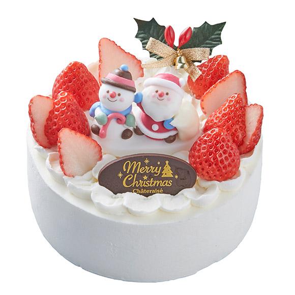 シャトレーゼ アレルギー対応クリスマスケーキ2019 ショート