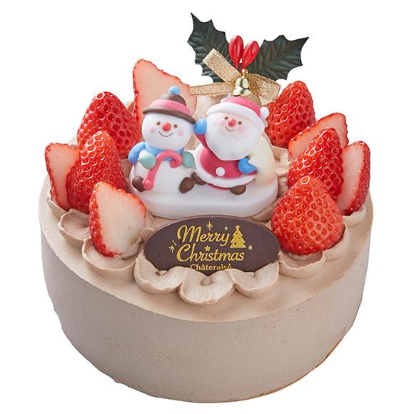 シャトレーゼ アレルギー対応クリスマスケーキ2019 チョコ