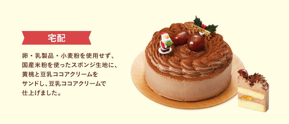 イオン 卵・乳・小麦を使わないクリスマスココアケーキ